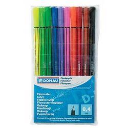 Cienkopis DONAU D-Fine, 0,4 mm, 10 szt., mix kolorów