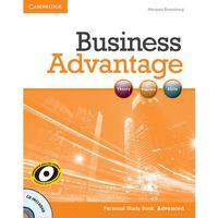 Książki do nauki języka, Business advantage advanced Personal study Book + CD (opr. miękka)