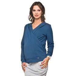 Bluza ciążowa Mica Granatowa