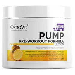 Suplement przedtreningowy OSTROVIT True Taste PUMP Pre-Workout Formula 300g, Smaki: Cytryna Najlepszy produkt Najlepszy produkt tylko u nas!