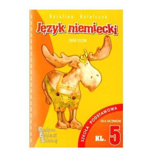 Książki do nauki języka, Język niemiecki - testy SP 5 CES (opr. miękka)