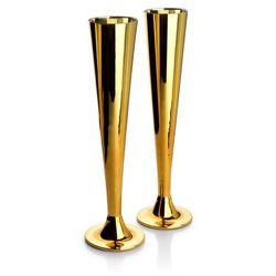 NAYRA GOLD KPL. 2 KIELISZKÓW DO SZAMPANA 200ml 5,5x7,2xh27,5cm