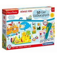 Gry dla dzieci, Mówiące Pióro - 50 gier edukacyjnych (50650). Wiek: 3+