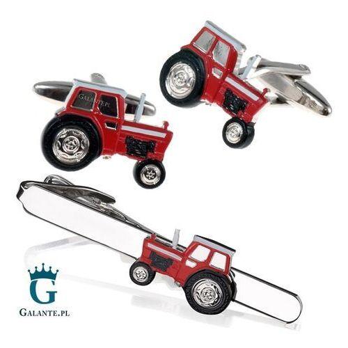 Komplety biżuterii, Komplet biżuterii Czerwony Traktor SDK-1366