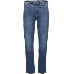 Black Diamond Forged Spodnie Mężczyźni, denim W32/L30 2021 Spodnie wspinaczkowe
