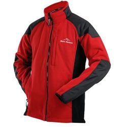 Kurtka polarowa ROALD - red/black