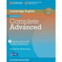 Książki do nauki języka, Complete Advanced 2nd Edition: : Teacher's Book (opr. miękka)