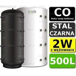BUFOR JOULE 500L 2W zbiornik buforowy akumulacyjny CO z 2 wężownicami Wysyłka gratis!