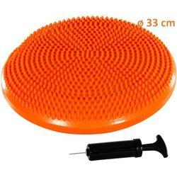 Poduszka do ćwiczeń równoważnych MOVIT Ø 33 cm pomarańczowa