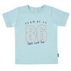 NAME IT Girls Mini Bluzka z krótkim rękawkiem VEEN corydalis blue