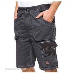 Spodnie do pasa krótkie HELIOS AVACORE w kolorze szaro-czarnym