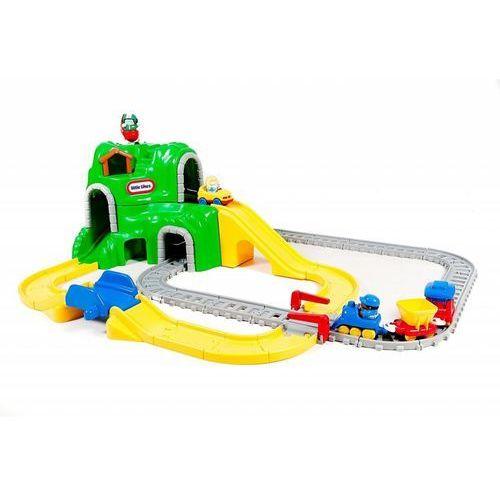 Kolejki i tory dla dzieci, Kolejka - zestaw dróg i szyn 44 elementy Little Tikes