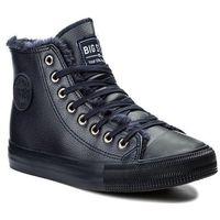 Damskie obuwie sportowe, Trampki BIG STAR - Y274352F Navy