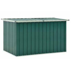 Zielona skrzynia ogrodowa do przechowywania - Milagro
