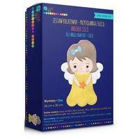 Kreatywne dla dzieci, Zestaw kreatywny - aniołek z filcu - coco (KSFI-080)