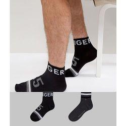 Tommy Hilfiger Quarter Socks 2 Pack American Heritage - Black
