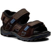 Sandały dziecięce, Sandały ECCO - Urban Safari Kids 73216250447 Coffee/Mocha/Black