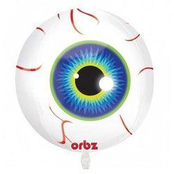Balon foliowy Oko na Halloween - 38 x 40 cm - 1 szt.