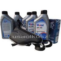 Oleje przekładniowe, Filtr oraz olej skrzyni biegów Mobil ATF320 Chevrolet Venture