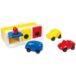 Ambi Toys Zamykany garaż z zabawkowymi samochodami, 3931079 Darmowa wysyłka i zwroty