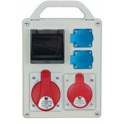 ROZDZ.R-BOX 240R 1x16/5P, 1x32/5, 2x250 puste okno