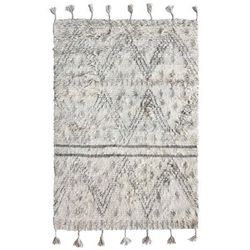 HK Living Ręcznie tkany dywan berberski wykonany z wełny (120x180) TTK3017