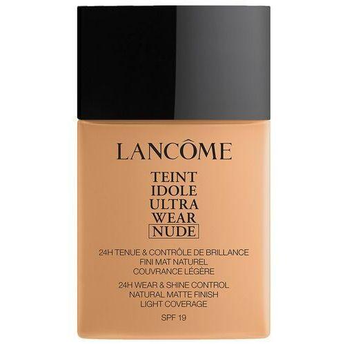 Podkłady i fluidy, Lancôme Teint Idole Ultra Wear Nude SPF19 podkład 40 ml dla kobiet 06 Beige Cannelle