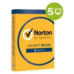 Norton Security Deluxe – 1-rok / 5 PC (AVS-NSEC1Y5D) elektroniczny certyfikat