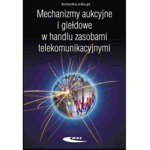 Biblioteka motoryzacji, Mechanizmy aukcyjne i giełdowe w handlu zasobami telekomunikacyjnymi (opr. miękka)
