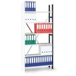 Regał archiwalny Variant, 2910x1000x300 mm, ocynkowane półki, dodatkowy