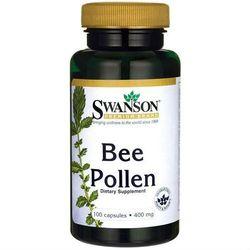 Pyłek pszczeli Bee Pollen 400mg 100 kapsułek SWANSON