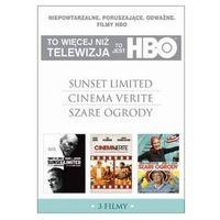 Pakiety filmowe, TO JEST HBO. PAKIET 3 FILMÓW (SUNSET LIMITED, CINEMA VERITE, SZARE OGRODY) (3 DVD) GALAPAGOS Films 7321910323809