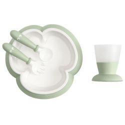 BABYBJORN - zestaw do karmienia - Powder Green - Powder Green