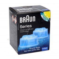 Wkłady czyszczące do golarki Braun 65331707 2szt.
