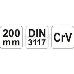 Klucz nastawny 200 mm Yato YT-2171 - ZYSKAJ RABAT 30 ZŁ