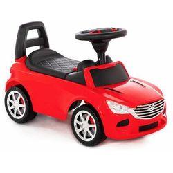 """Polesie 84507 Samochód-jeździk """"SuperCar"""" Nr4 z sygnałem dźwiękowym (czerwony) darmowa dostawa"""
