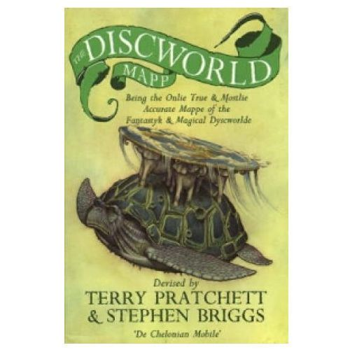 Książki do nauki języka, The Discworld Mapp (Świat Dysku: Mapa) (opr. miękka)
