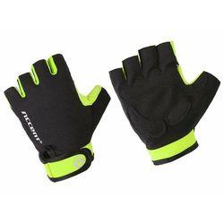 Rękawiczki Accent Bora czarno-żółte fluo XL