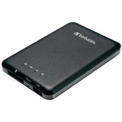 Czytnik kart pamięci SD, Verbatim MediaShare Wireless Storage, bezprzewodowy, Wi-Fi, USB
