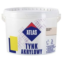 Tynk akrylowy Atlas SAH 0062 kwarc 25 kg