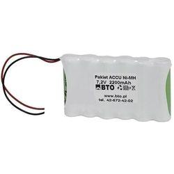 Akumulator NiMH AA 7.2V 2.2Ah 6S1P