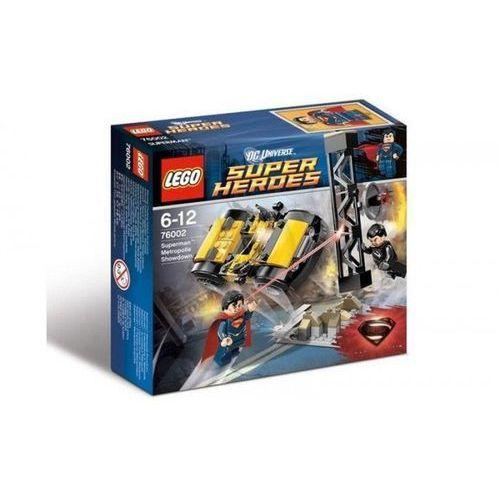 Klocki dla dzieci, Lego SUPER HEROES Starcie w metropolis 76002