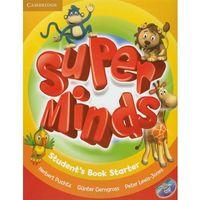 Książki do nauki języka, Super Minds Starter Student's Book (podręcznik) with DVD-ROM (opr. miękka)