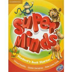 Super Minds Starter Student's Book (podręcznik) with DVD-ROM (opr. miękka)