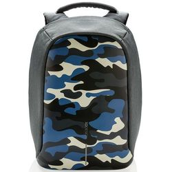 XD DESIGN Bobby Compact Print plecak na laptop 14'' / tablet 9'' / Camouflage Blue - Camouflage Blue