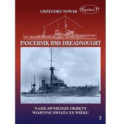 Brytyjski pancernik z 1906 roku HMS Dreadnought - Grzegorz Nowak (opr. miękka)