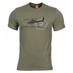 Koszulka T-shirt Pentagon Ageron Helicopter, Olive (K09012-HE-06) - olive