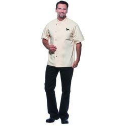 Bluza kucharska męska, rozmiar 46, kremowa | KARLOWSKY, Gustav