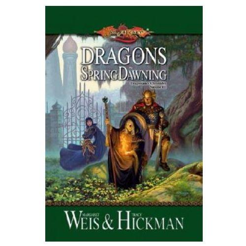 Książki do nauki języka, Dragons of Spring Dawning Book 3 Dragonlance Chronicles (opr. miękka)