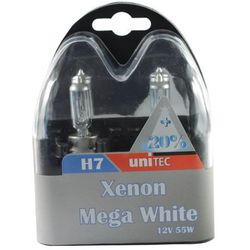 Żarówka Unitec H7 mega white xenon